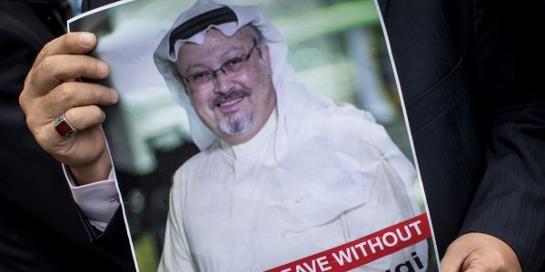 Jamal Khashoggi was barred from writing in Saudi Arabia after he criticized Trump, then left his native country