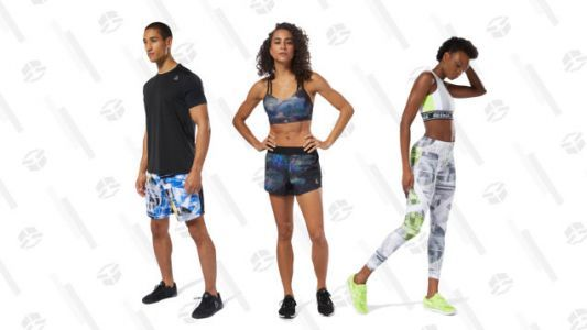 Restock Your Workout Gear With Reebok's Extra 50% Off Sale