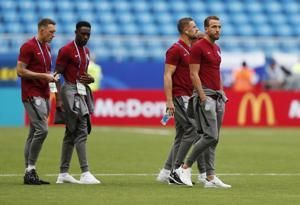 England starts same lineup, while Sweden makes 2 changes