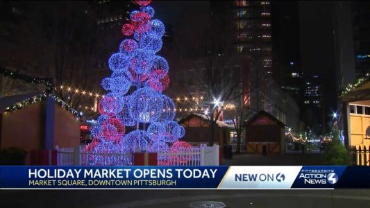 Holiday Market opens today in downtown Pittsburgh