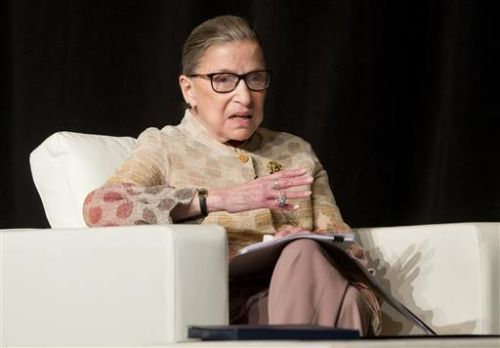 Ruth Bader Ginsburg is first woman to lie in state at US Capitol