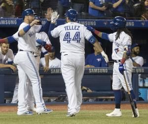 Tellez has 2 HRs, 5 RBIs and Jays power past Red Sox 10-3