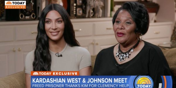 Kim Kardashian West says she thinks Trump's starting to change his mind about cracking down on drug dealers and giving them the death penalty