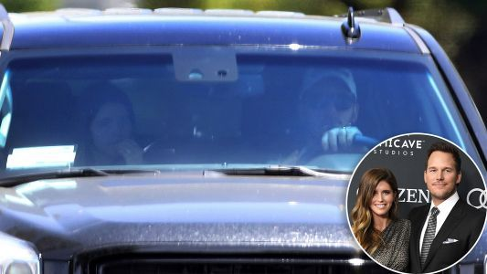 Newlyweds Chris Pratt and Katherine Schwarzenegger Go for a Drive With Their Wedding Bands on Full Display