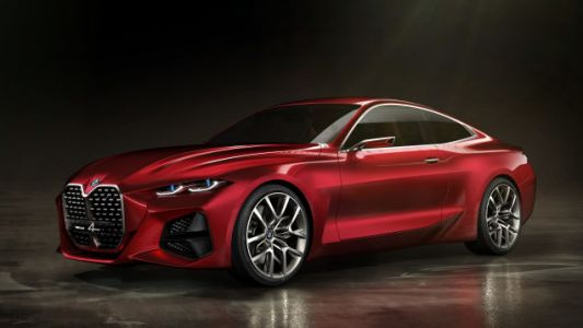 The BMW Concept 4 Is All Grille, All The Time