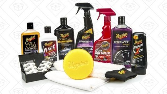 Keep Your Car Showroom-Shiny With Meguiar's Complete Car Care Kit, On Sale Now For Black Friday