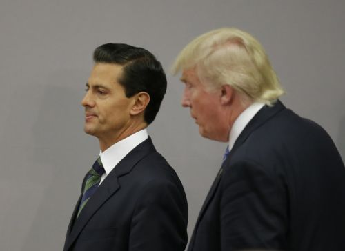 The Mexican peso is sliding after report says Trump will move forward with tariffs on the US's closest allies