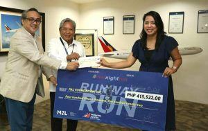 Manila International Airport Authority Turns Over Donation To PAL Foundation