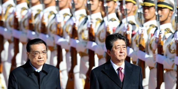 Japanese PM Shinzo Abe met Xi Jinping in Beijing. In an era of US tariffs and trade wars, you can bet everything Abe remembers the last time the US passed over Japan for China