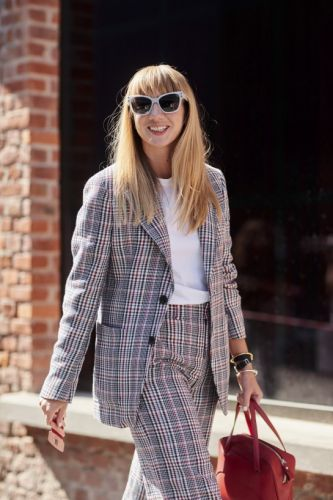 Literally Everyone Is Wearing A Suit At MFW SS18-And We're Living For It