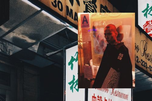 Raf Simons Spring/Summer 2018 Editorial Lurks in the Shadows of Chinatown