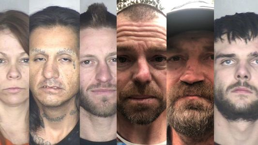 6 arrested in connection to theft near Camp Fire area