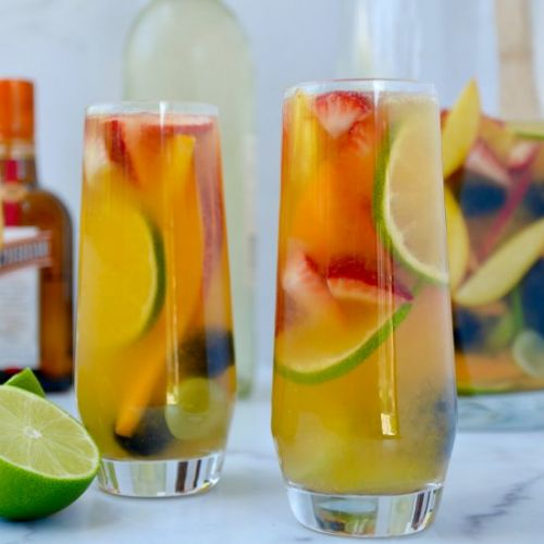 White Sangria for All Seasons