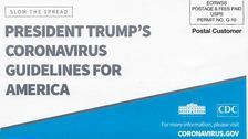 CDC Mails Out Coronavirus Flyer Featuring Trump's Name - In An Election Year