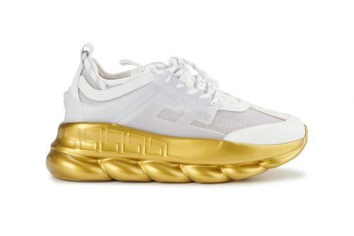 Versace's Chain Reaction Sneakers Receive Regal Embellishments