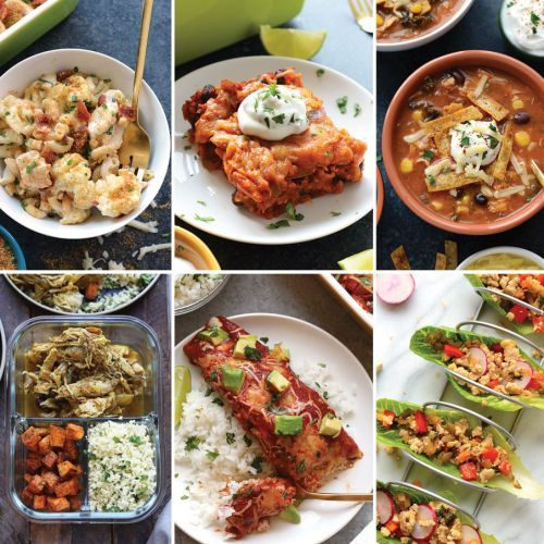 Chicken Meal Prep Recipes