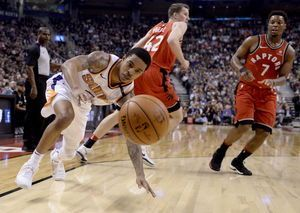 Lowry has 20 points, 10 assists as Raptors beat Suns 126-113