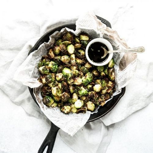 Air fryer Asian brussels sprouts