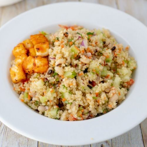 Quinoa & Black Eyed Peas Salad