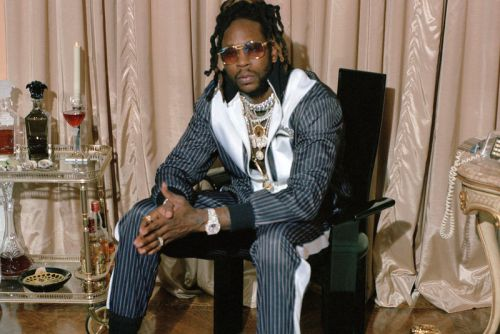 Versace Teams With 2Chainz for Collaborative Clothing & Sneakers