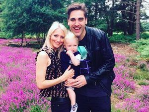Busted's Charlie Simpson Announces The Arrival Of His Second Son