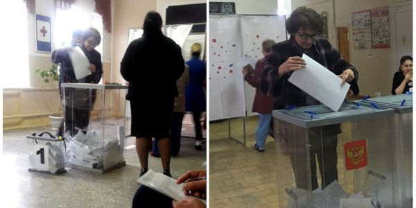 Reuters photographed 17 Russians voting multiple times in the presidential election - check out the crazy photos