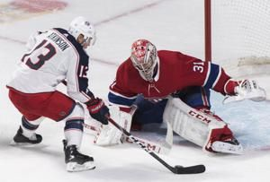 Drouin scores shootout winner, Montreal tops Columbus 3-2