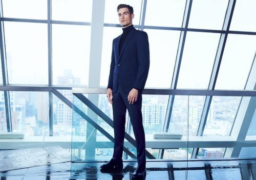 Jason Anthony Sports Navy BOSS Style for Bloomingdale's