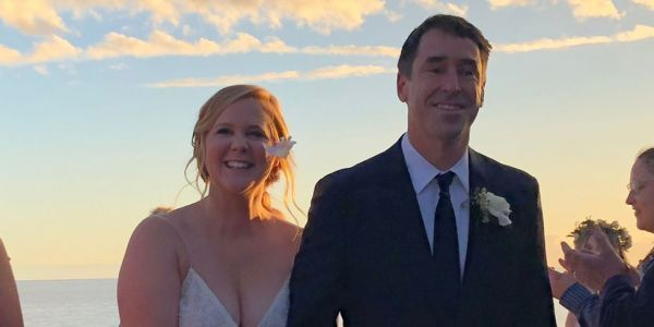Amy Schumer confirms marriage with beautiful wedding photos