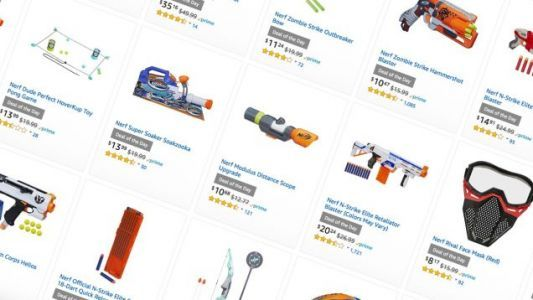This Is Not a Drill: Amazon's Running a Massive One-Day Nerf Gun Sale