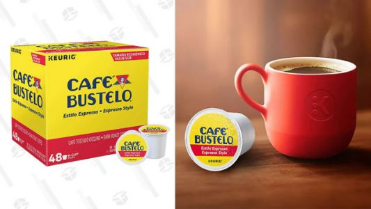 Get Your Caffeine Fix With 30% off Café Bustelo K-Cup Pods