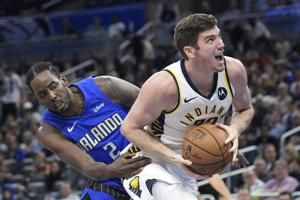 Sabonis scores 21 as Pacers rally past Magic 109-102