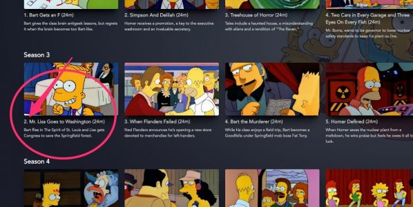 'The Simpsons' episode featuring Michael Jackson is not on Disney Plus
