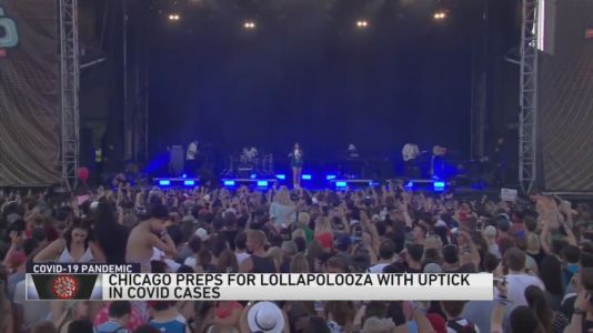 Chicago prepares for Lollapalooza as COVID-19 cases rapidly rise
