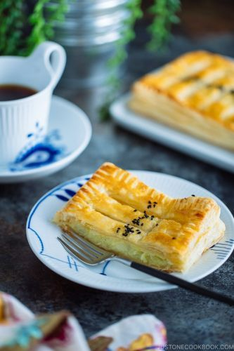 Japanese Sweet Potato Pie スイートポテトパイ