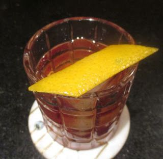 Black squirrel old fashioned