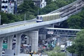 First Trial Run of Bangkok's Elevated Rail System Successfully Conducted
