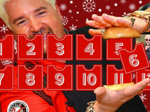 The 12 Days of Fieri: Guy Out of Bounds
