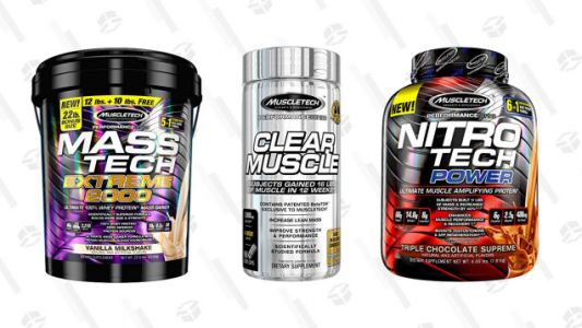 Flex Your Deal-Finding Muscles With Discounted MuscleTech Protein, Today Only