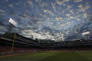 The Latest: Red Sox starter Sale leaves in top of fifth