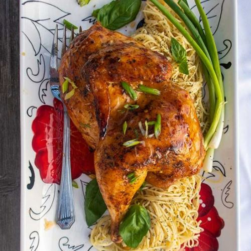 Honey Garlic Roasted Chicken