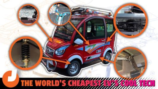 The Impressive Engineering Behind The Cheapest Electric Car In The World