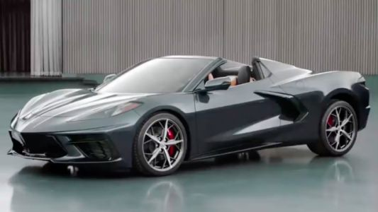 Here's a First Look at the New C8 Corvette Convertible
