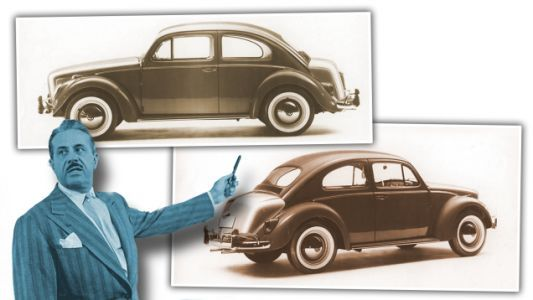 That Time Design Legend Raymond Loewy Phoned In An Updated Volkswagen Beetle