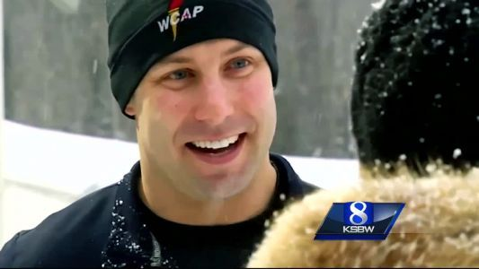 Nick Cunningham of Monterey competes in 4-man bobsled at Winter Olympics