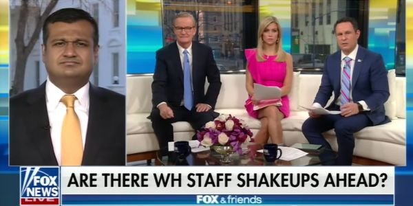 'You got burned': 'Fox & Friends' has been slamming the White House on Rob Porter all week