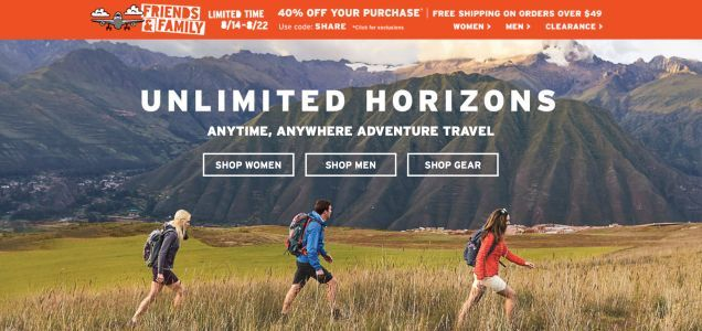 Take a Hike With 40% Off Everything From Eddie Bauer