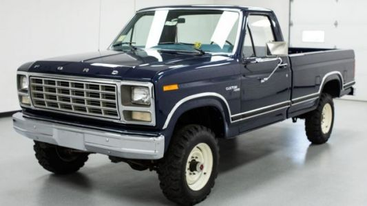 Someone Spent $97,000 On This Delightful 1980 Ford F-250