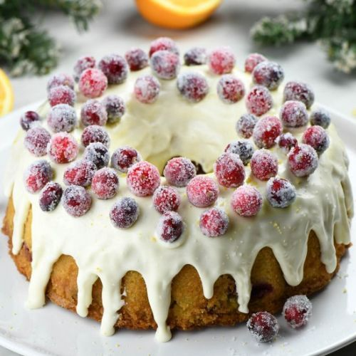 Orange Cranberry Bundt Cake