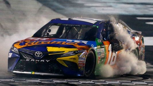 NASCAR results at New Hampshire: Kyle Busch advances in playoffs with win